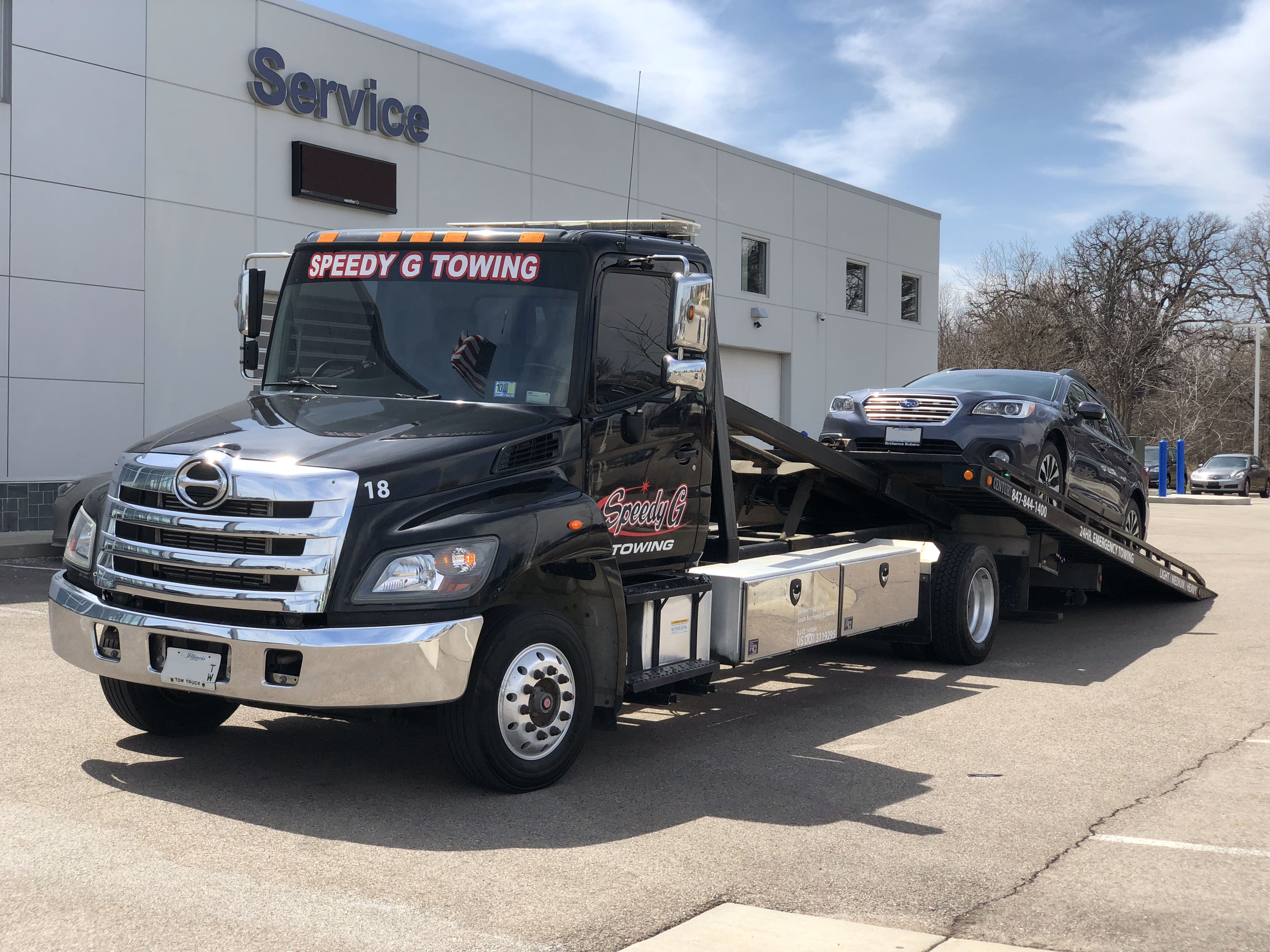 Cheap Tow Truck Near Me >> Elgin Il Towing Service Speedy G Towing